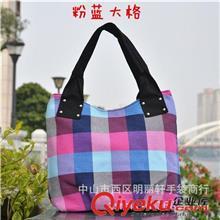 B555广州批发大容量厚实帆布包手提帆布包多色艳丽帆布女包学生包