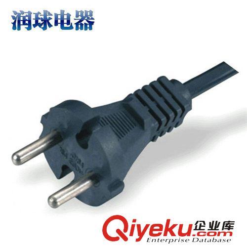 欧式二级01电源国标插头图片|批量生产