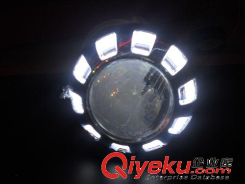 【摩托车透镜 天使眼 摩托车大灯改装】摩托车透镜