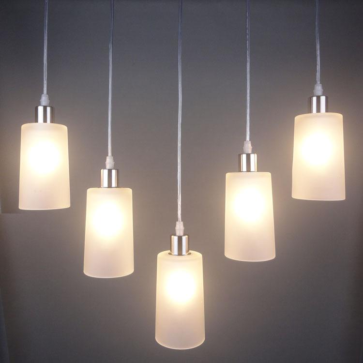 2014新款现代简约好看玻璃餐吊灯