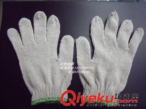 批发 棉纱手套白650G劳保手套 工作业棉纱手套针织防护棉线手套
