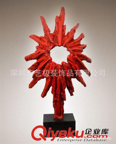抽象树脂雕塑工艺品玄关雕塑艺术品摆件景观主题雕塑小品景观配饰