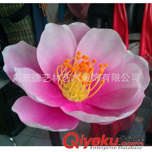 【德艺林】压塑桃花 新年春节日装饰花 堆头立体桃花