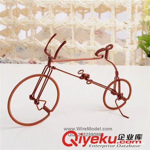 手工自行车模型,铜线,手工机器人