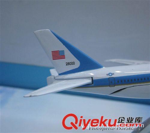 供应金属飞机模型(美国空军一号b747-200)
