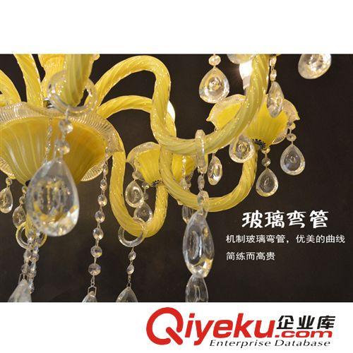 水晶吊灯奢华欧式吊灯金色led水晶灯温馨餐厅灯圆形
