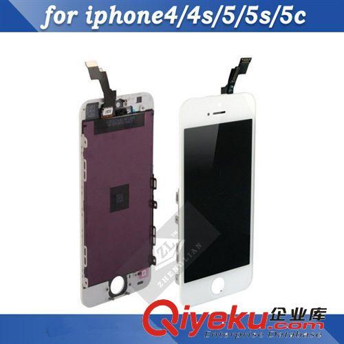 iphone5c/5s液晶总成 苹果5代触摸显示液晶屏 lcd屏幕