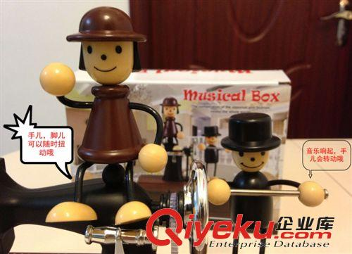 机复古八音盒音乐盒 创意生日礼物图片