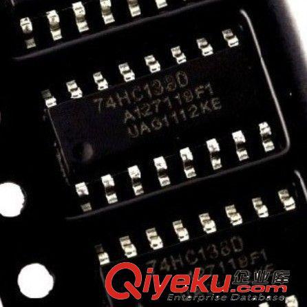 销售逻辑ic 74hc138 74hc138d 三八译码器/解码器ic 全新原装