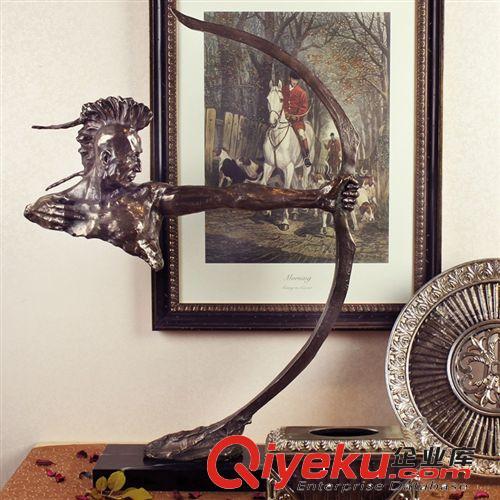 雅典娜家居 欧式装饰品 软装饰品摆件 雕塑人物摆件 欧式玄关装饰