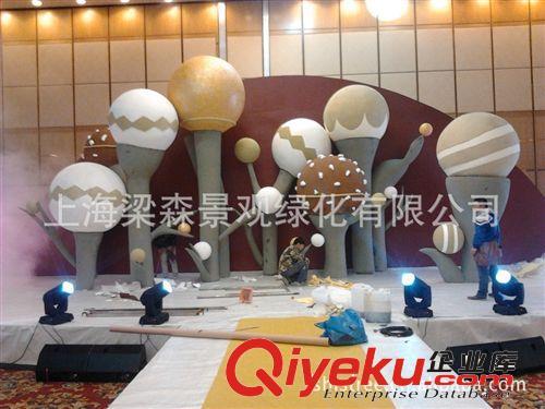 南京泡沫雕塑 新年商场布置