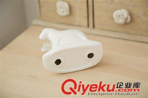 创意zakka陶瓷小动物手机架