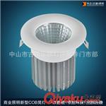 热销LED天花灯 7w COB天花灯外壳套件与成品 COB筒灯