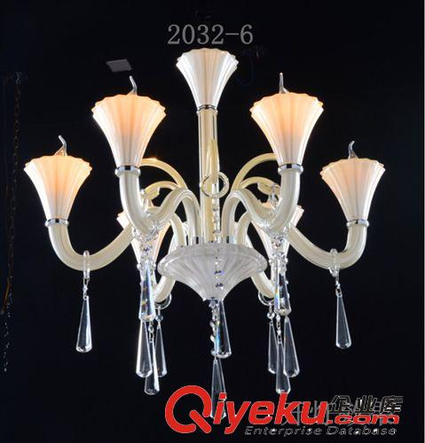 新款欧式水晶吊灯天花蜡烛灯简洁优雅大方厂家直销-8
