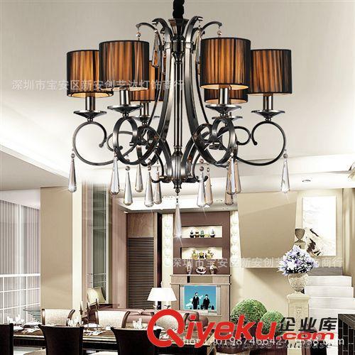欧式吊灯 水晶吊灯 客厅卧室餐厅吊灯