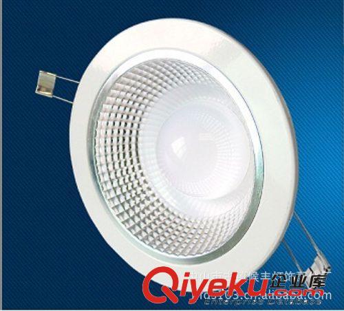 新品3W5W7W9W12W一体化COB天花射灯高光面聚光LED灯具