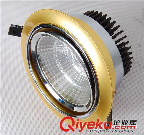 厂家直销大功率天花灯套件,9W,12W,COB电镀天花灯