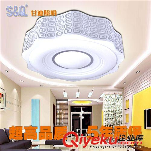【led吸顶灯铝材八角 现代简约欧式客厅卧室餐厅厨房