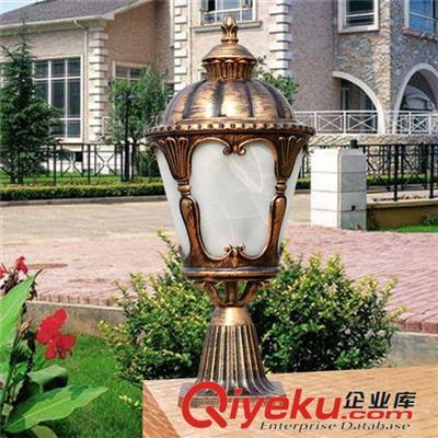 欧式户外灯 庭院灯草坪灯全铝制圆灯景观灯柱头灯