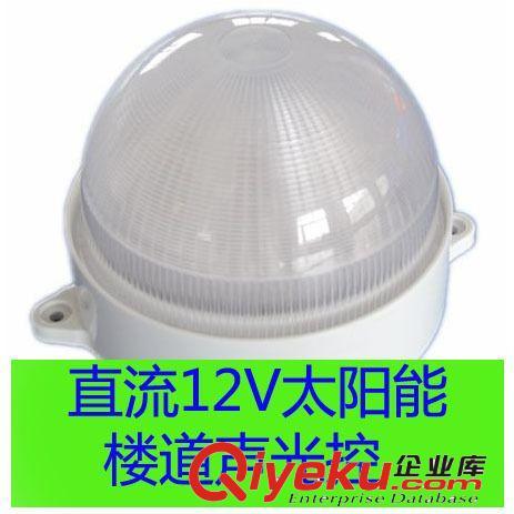【直流24v输入太阳能楼道声控灯2瓦固定式led声光控