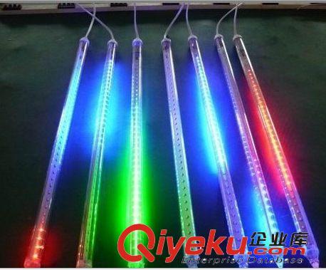 led彩灯 灯串led流星雨灯圣诞灯下雨灯流星灯管流水灯