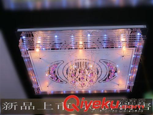 現代水晶吸頂燈平板低壓燈led低壓水晶燈客廳臥室吸頂