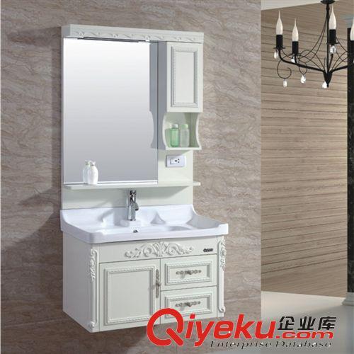 厂家供应整体欧式卫浴洁具简欧pvc浴室柜图片|厂家