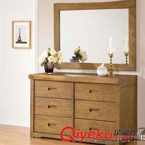榆木抽屉储物柜复古六斗柜实木柜子韩式柜子榆木家具