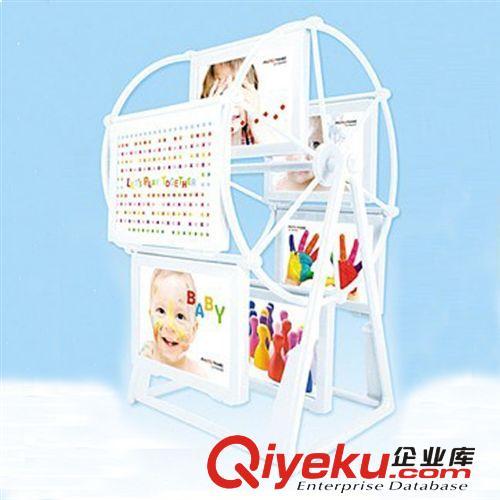 供应3寸旋转相架 摩天轮转动系列相框 儿童礼物 创意旋转相框