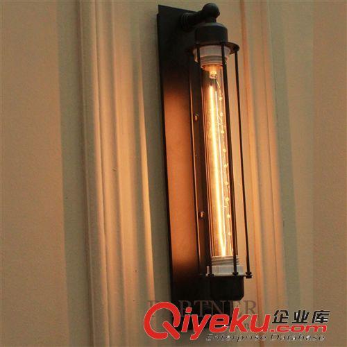 设计师的灯创意欧式床头阳台楼梯灯美式复古工业风铁艺恶魔岛壁灯