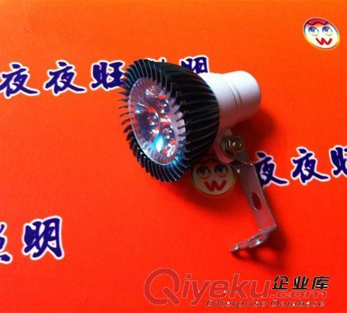 低压名牌彩色3W电动车灯摩托车led大灯改装射灯泡超亮12-85V三轮
