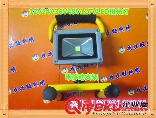 10W 20W 30W 50W集成LED投光灯12V LED泛光灯 照树灯