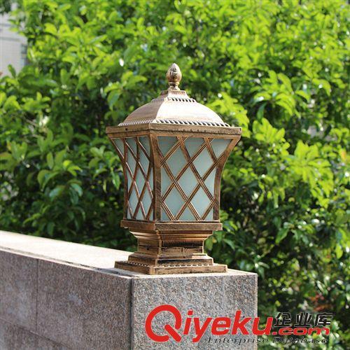厂家供应欧式仿古庭院灯 田园风格园林小区别墅道路照明灯具