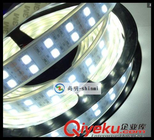 led灯带 3528灯条 双排贴片灯条 240灯/米 高亮柔性套管灯带