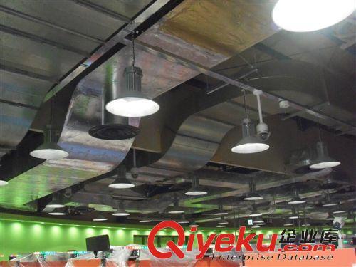 棚户区改造节能灯 led工矿灯具 可调光可感应 智能雷达控制(图)