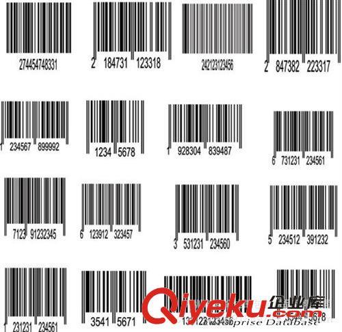 书籍条形码可根据客户的要求生产