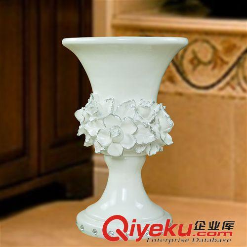 树脂氧化镁落地大花瓶