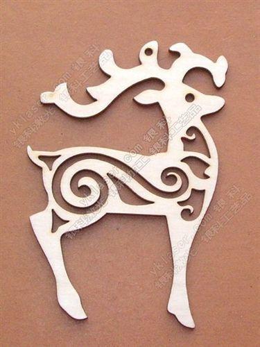 圣诞挂件圣诞饰品 供应圣诞饰品 激光挂件 雕刻木质挂件工艺品图片
