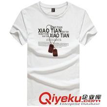 2014夏季T恤订做款 2014夏装 男T恤短袖韩版修身印花男装半袖多款式批发