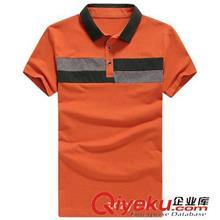 2014夏季T恤订做款 2014新款男士短袖T恤 男POLO衫夏装韩版拼接男式短袖T恤 3058