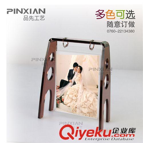 时尚简约影楼像框相架5寸7寸欧式透明亚克力相框摆台异形画框原图