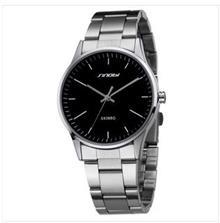 石英表 **新款时诺比男士手表商务男表简约全钢防水手表时装表复古表