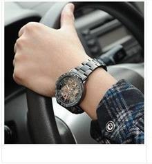 机械表 ** 时诺比2179 全自动机械表 双面**机械男表 时尚男士手表