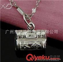 纯银铃铛 XD  HC005 小百家锁纯银铃铛吊坠 时尚饰品批发 饰品配件做工精细