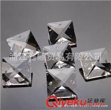 水晶散珠(灯饰、珠帘) 水晶四方珠14MM至30MM 灯饰水晶方珠 珠帘DIY配件 灯饰配件