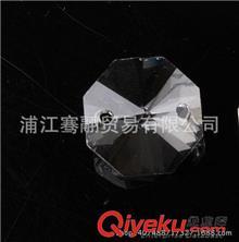 水晶散珠(灯饰、珠帘) 厂家直销14毫米机磨水晶八角珠水晶珠子散珠批发水晶灯配件14-30