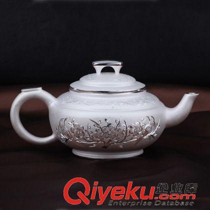 s999千足银花纹银茶壶银水杯水壶纯银