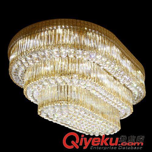 吸顶灯 供应批发水晶吸顶灯 传统欧式椭圆形蛋糕塔客厅灯卧室水晶吸顶