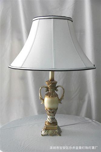 台灯系列 中山古镇现代简约台灯灯罩 欧式布艺灯罩 简约灯罩 宫廷灯罩