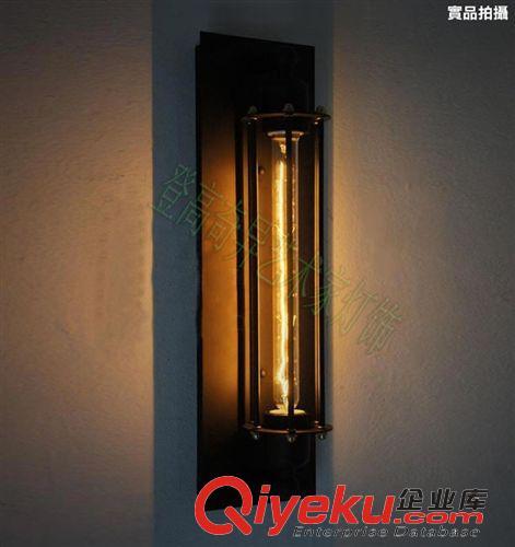 创意欧式床头阳台楼梯灯美式复古工业风铁艺